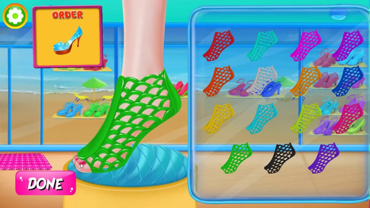 Fun Kids Games Little Shoe Designer Fashion World Android Game Fun Games For Kids Games For Kids Cool Kids