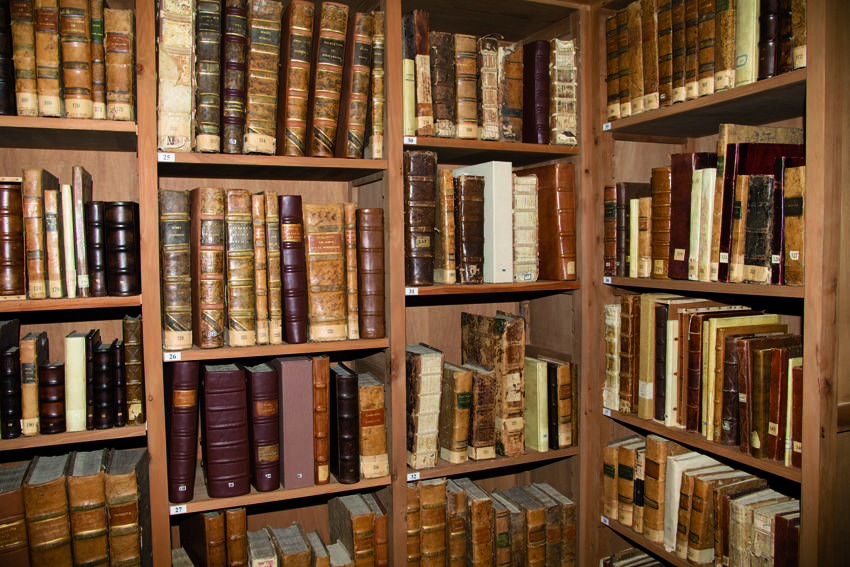 Assisi, Biblioteca del Sacro Convento