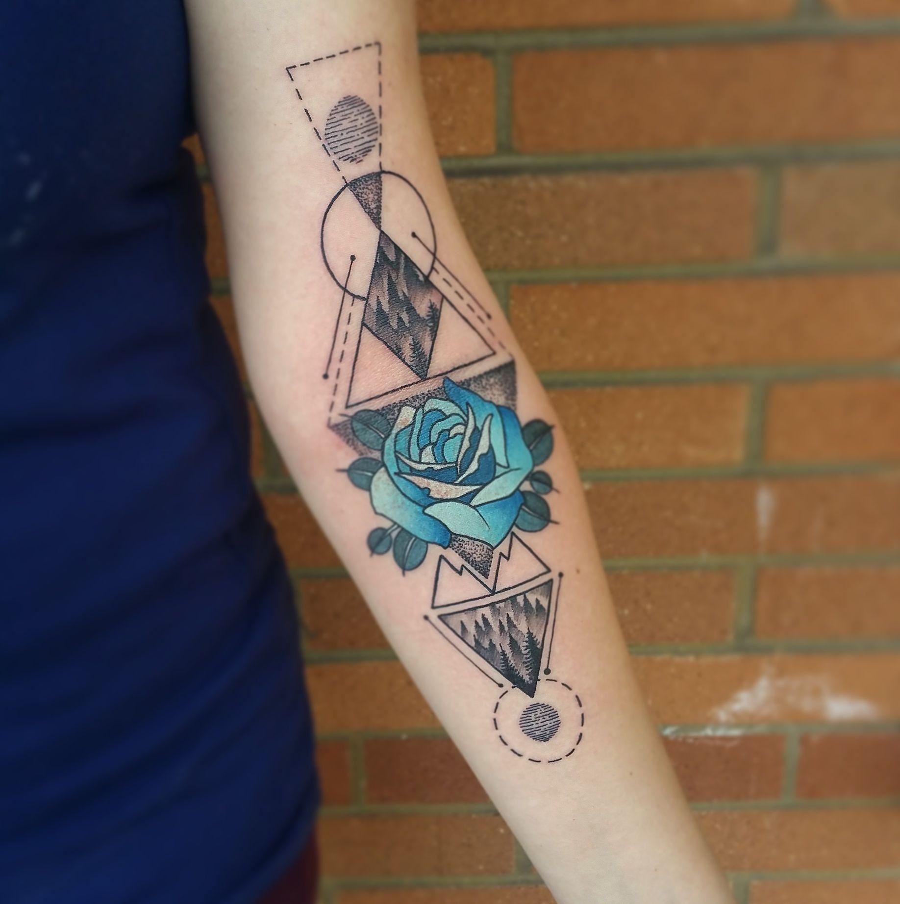 Twin Peaks Tribute By Me Logan Bramlett Wanderlust Tattoo Society