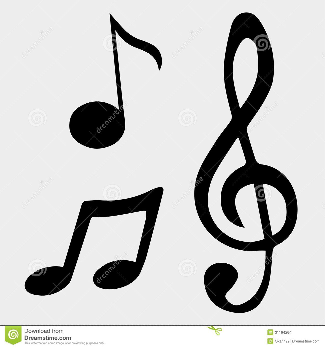 Vector Music Notes Symbols #sigilaffirmations | Music ...