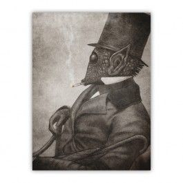 Earl of Eisley  Wood Print $35.00