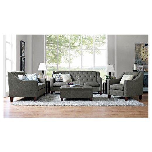 Felton Tufted Sofa Threshold Target Living Room