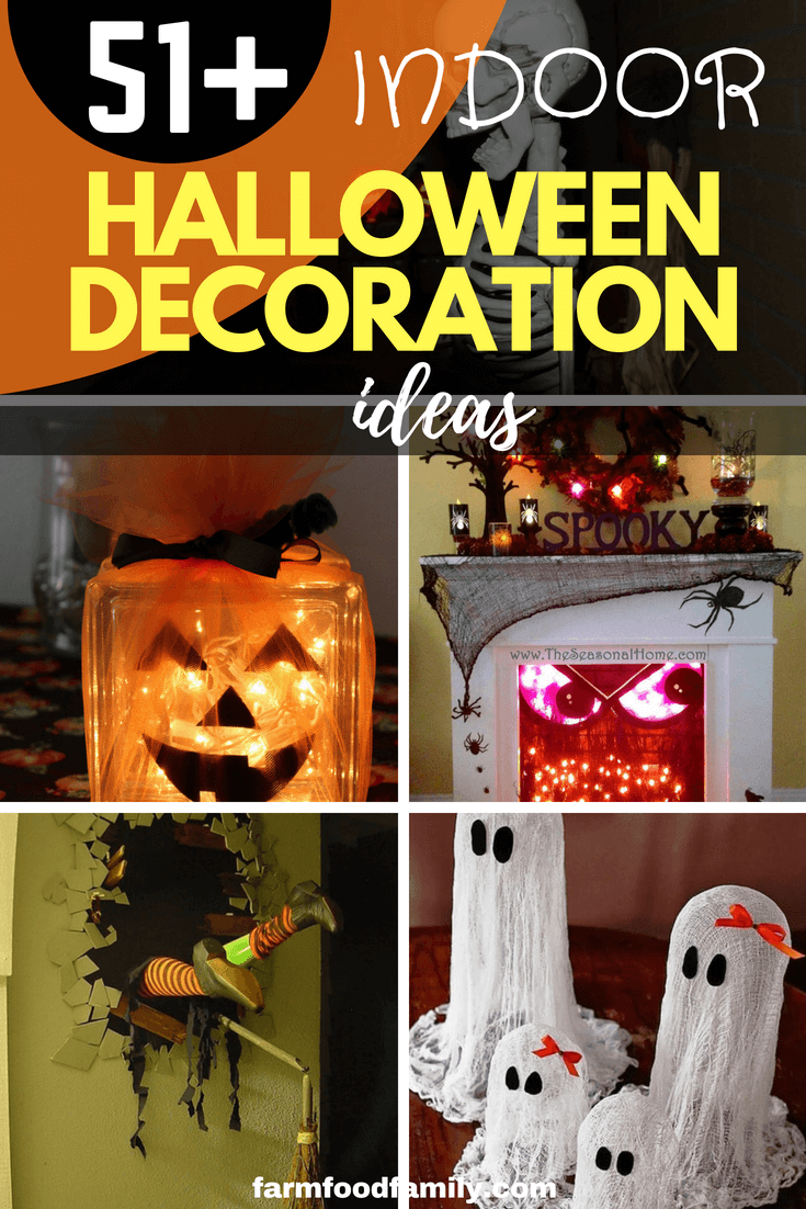 51+ Spooky DIY Indoor Halloween Decoration Ideas For 2020