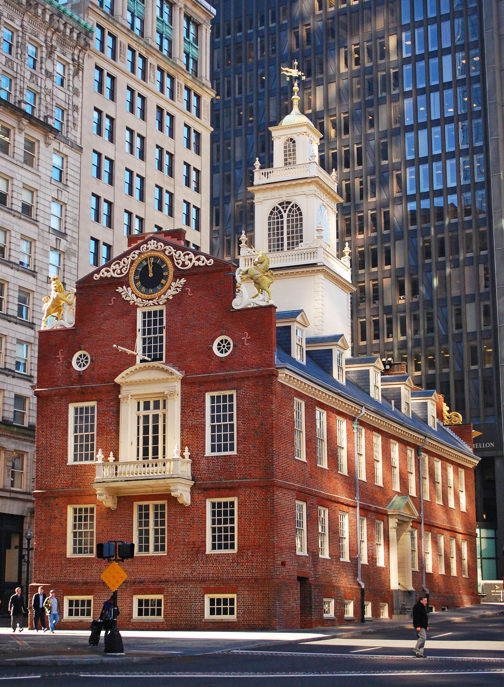Old State House Ferry Building San Francisco University Of Massachusetts House Museum