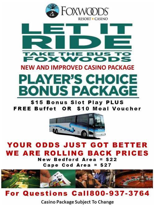 Bus casino foxwood trip casino dublin poker tournaments