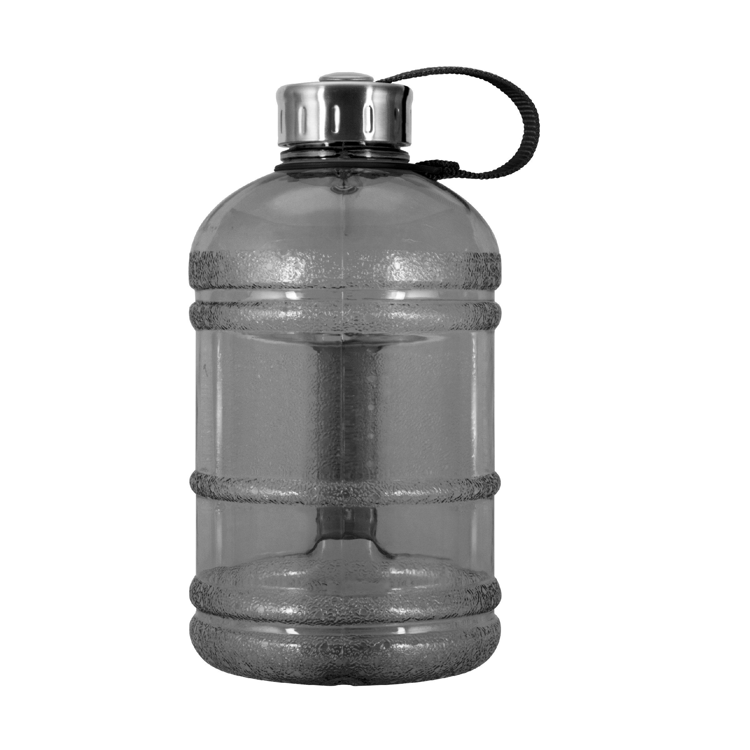 1 2 Gallon 64 Oz Bpa Free Plastic Water Bottle W 48mm Steel Cap Black Be Sure To Check Out This Awesome Product It Is Amazo Water Bottle Bottle 2 Gallons