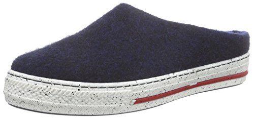 MagicFelt JU 720, Unisex-Erwachsene Pantoffeln, Rot (rubin 4823), 36 EU (3.5 Erwachsene UK)
