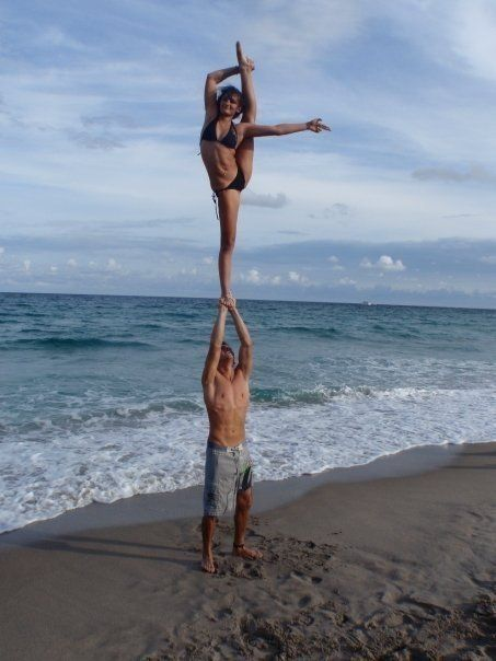 ★☯★ #cheer leader #yoga ★☯★