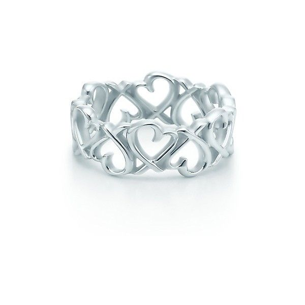 Paloma Picasso 174 Loving Heart Band Ring 175 Found On