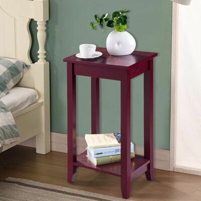 Charlton Home Turrell End Table In 2020 Sofa End Tables Bedroom End Tables Living Room Side Table
