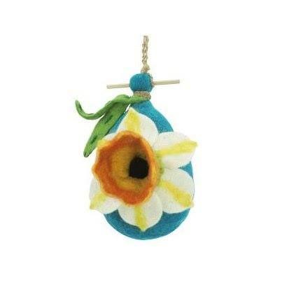 Shop https://goo.gl/zMehpP   DZI Handmade Designs DZI484034 Daffodil Felt Birdhouse    Price 19.56   Go to Store https://goo.gl/zMehpP  #Birdhouse #Daffodil #Designs #DZI #DZI484034 #Felt #Handmade