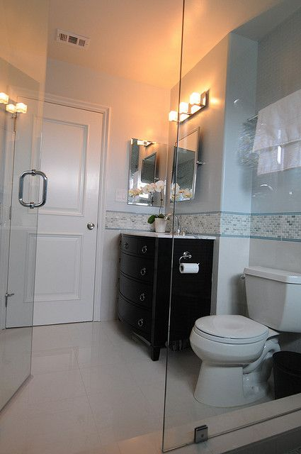 Custom Designed Bathroom By Genchi Interior Design Group A Newport Beach Ca Based