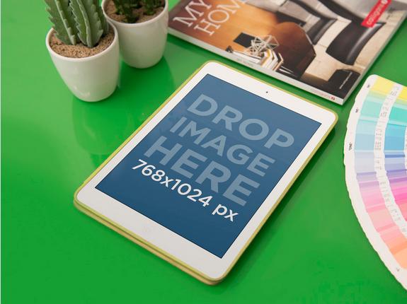 New Mockup iPad at Interior Design Studio Try it here https