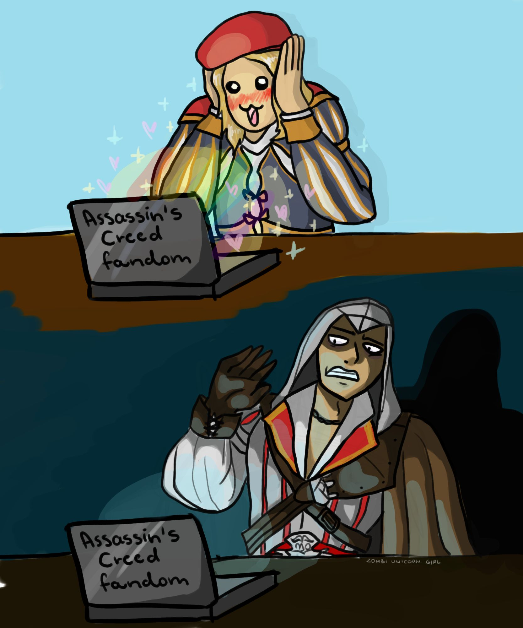 Assassin Creed Fanart Assassins Creed Funny Assassins Creed