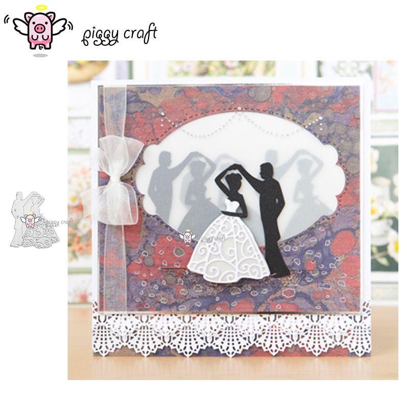 Couple Dancing Cutting Dies Stencil Cutter Scrapbook Embossing Card Photo Craft