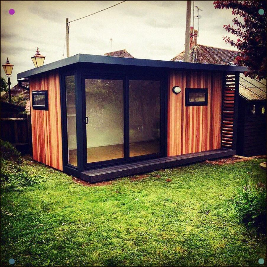 A Stunning Garden Office, All Without The Need For