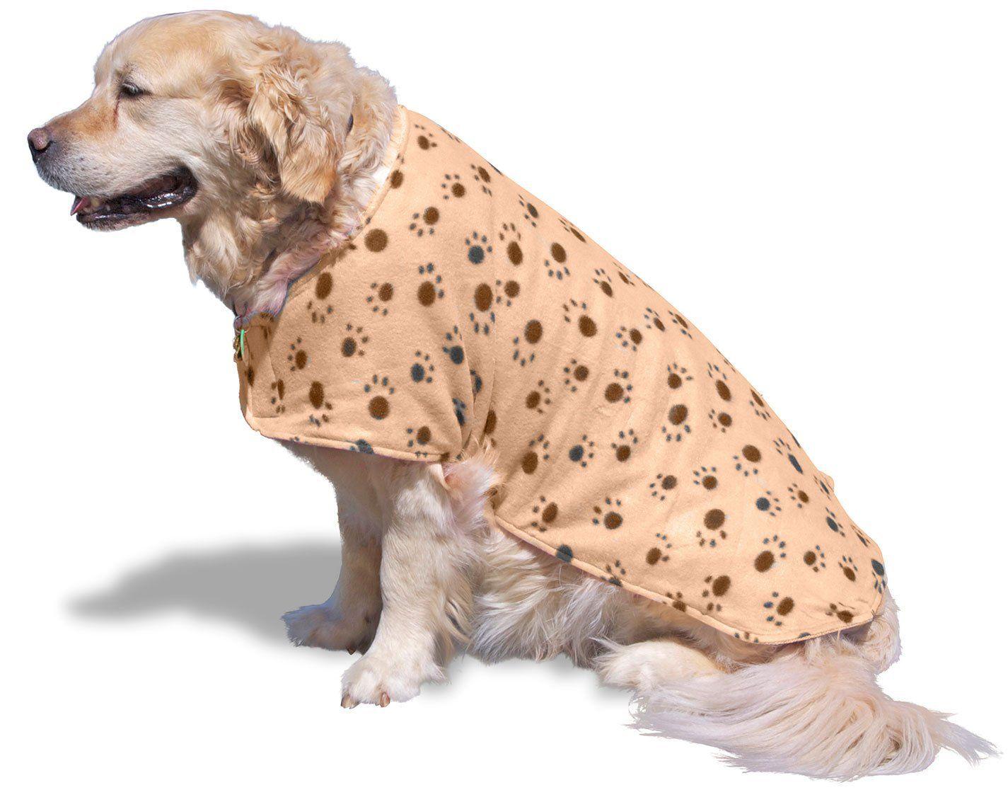 Seadog Pro Dog Drying Towel Jacket Microfiber Lining Absorbs
