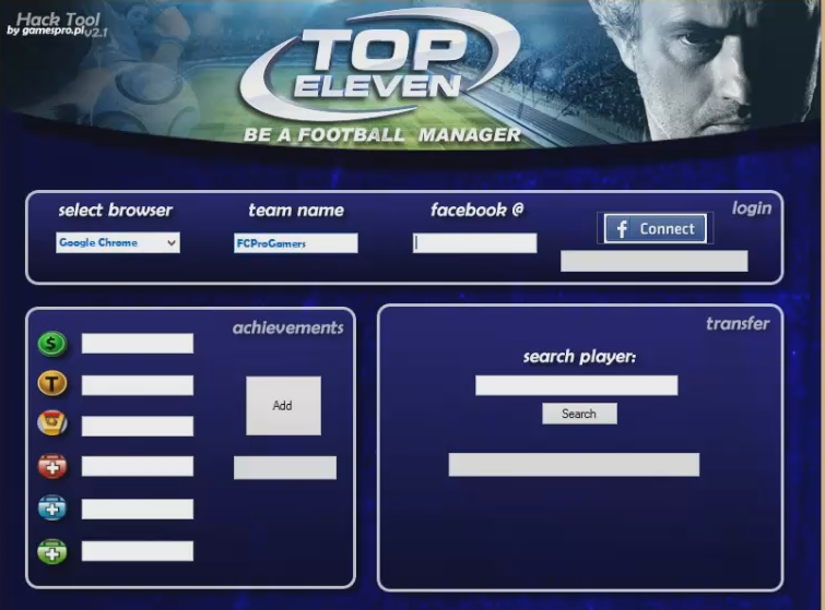 Top Eleven 2015 Hack Tool Working Cheats Free No Survey