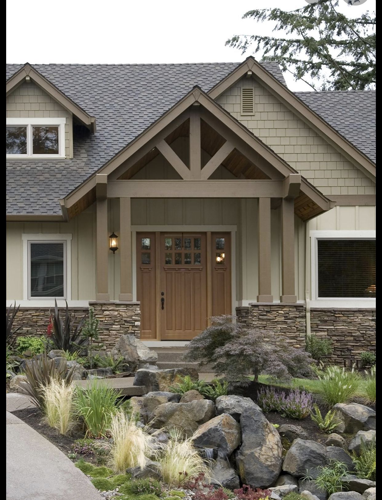 Craftsman In 2020 House Paint Exterior Craftsman House Ranch Style Homes