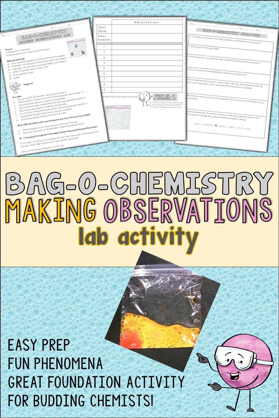 Making Observations in Science Activity | Pinterest