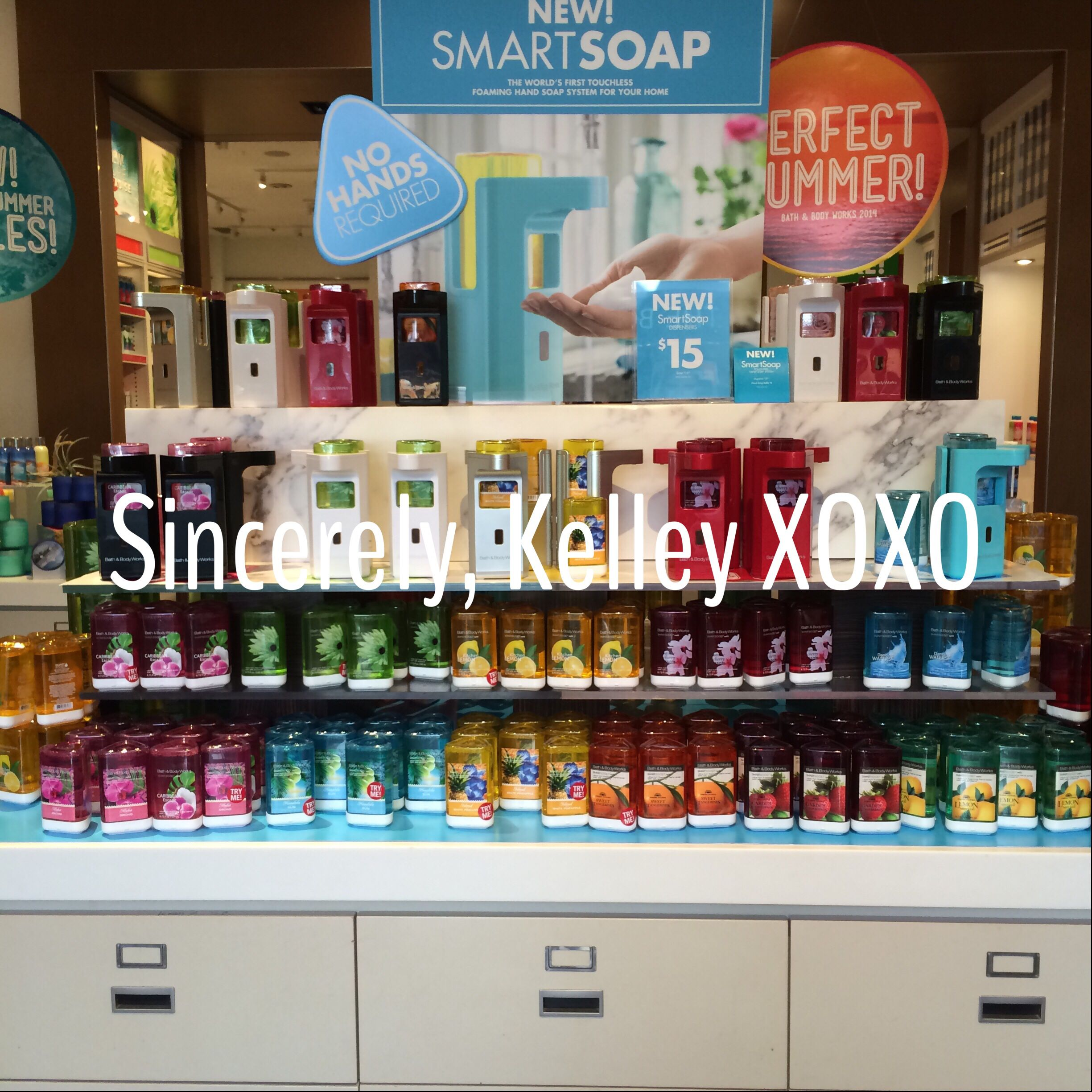 Bath   Body Works Smart Soap Dispensers currently being sold in select  stores  It s an. Bath   Body Works Smart Soap Dispensers currently being sold in