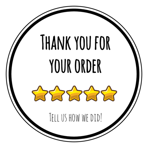Remind Customers To Leave A Review Of Your Product Business Or Service With These Printable 5 S Business Thank You Notes Small Business Quotes Business Notes