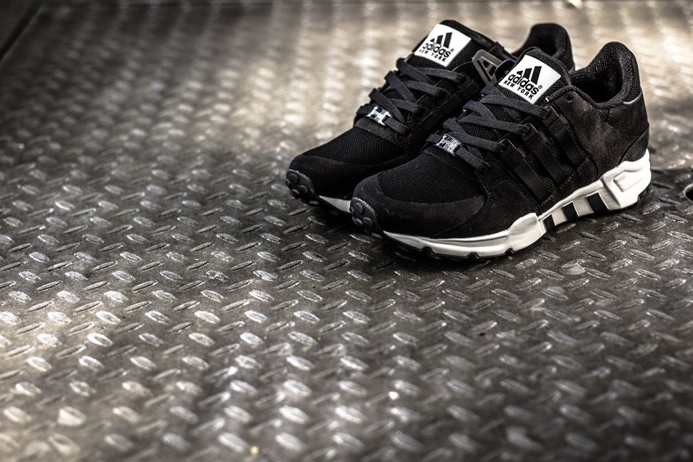 New adidas Originals EQT SUPPORT ULTRA SHOE Black Pink White