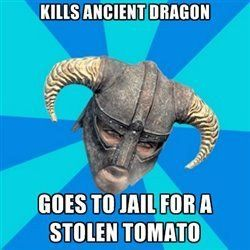It totally could happen, but for me either 1. I won't get caught. 2. I will not go to jail kill everyone in town and just not go there for awhile. Especially Markarth. I hate Markarth.