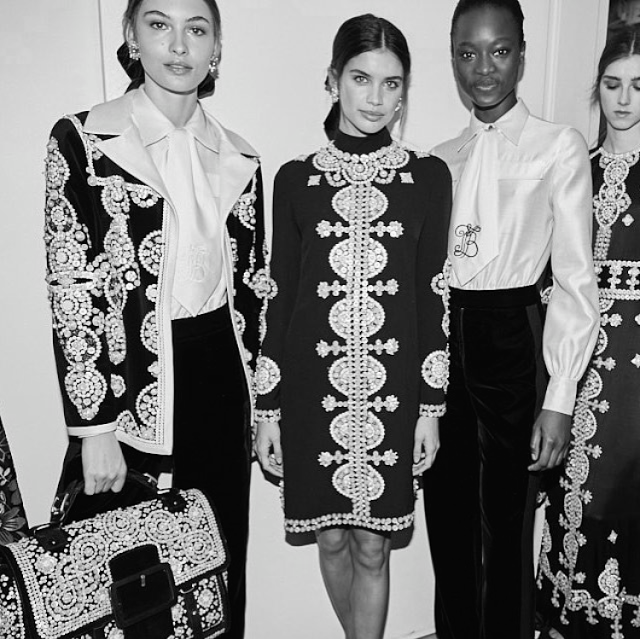 Daily Cup of Couture: Tory Burch Fall 2017 Collection