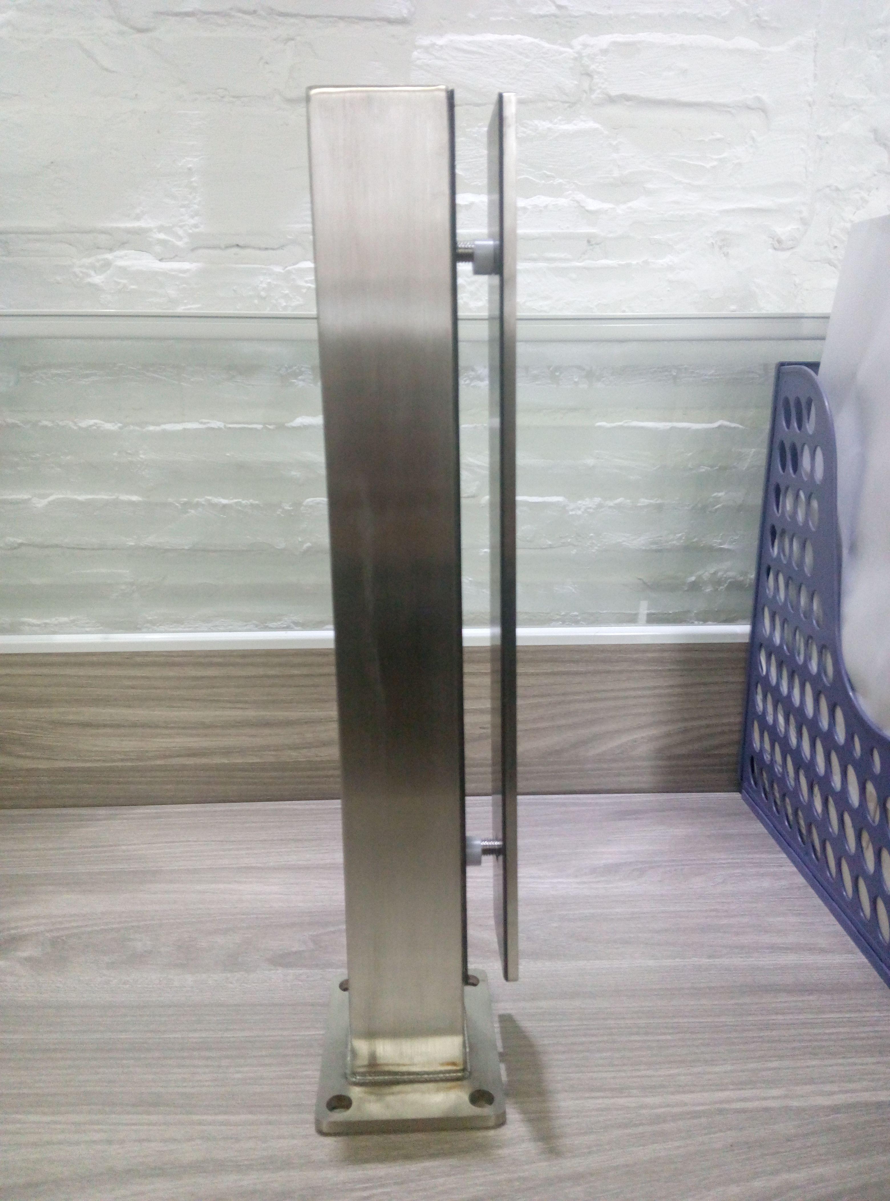 Stainless Steel Short Mini Post From China Supplier Shenzhen Launch Co Ltd Stainless Steel Railing Glass Balustrade Steel Railing