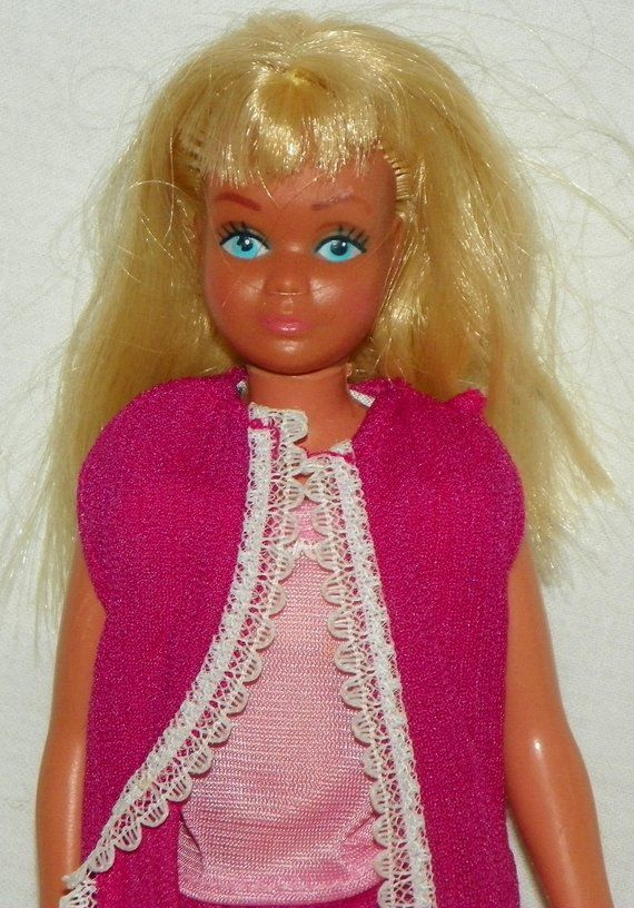 2839ebbccf76 Mattel 1967 Sun Malibu Skipper Barbie Doll ~ Bendable Legs ~ Twists and  Turns ~ 9