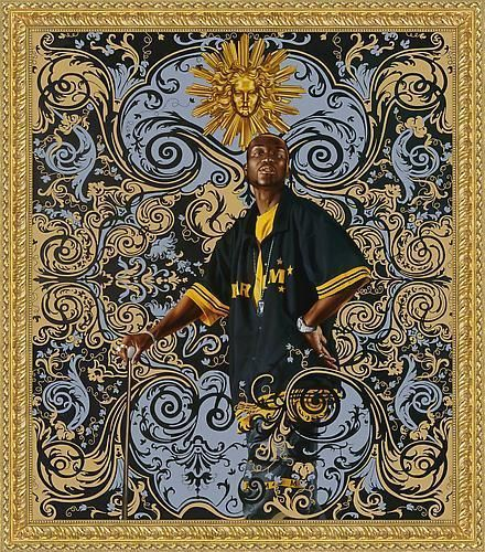 Kehinde Wiley's beach towel in collaboration with Art