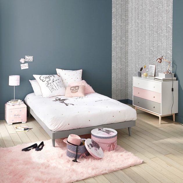 Id e d co chambre fille blog deco bedrooms room and kids rooms - Idee de chambre fille ado ...