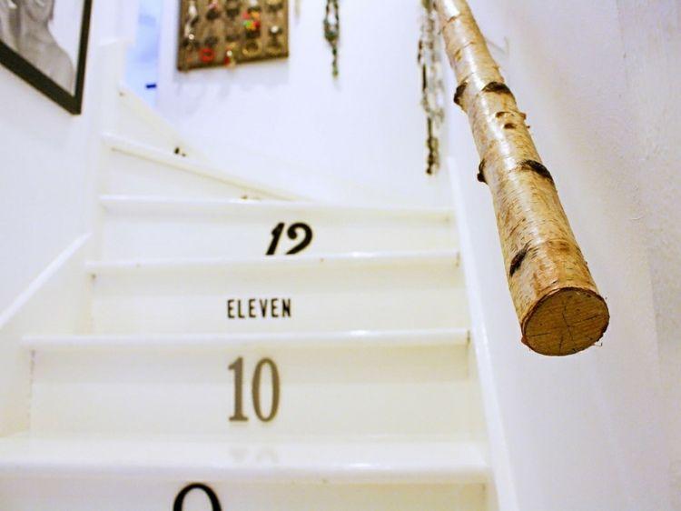 Best Treppen Handlauf Aus Birkenstamm Interessante Idee In 2019 400 x 300