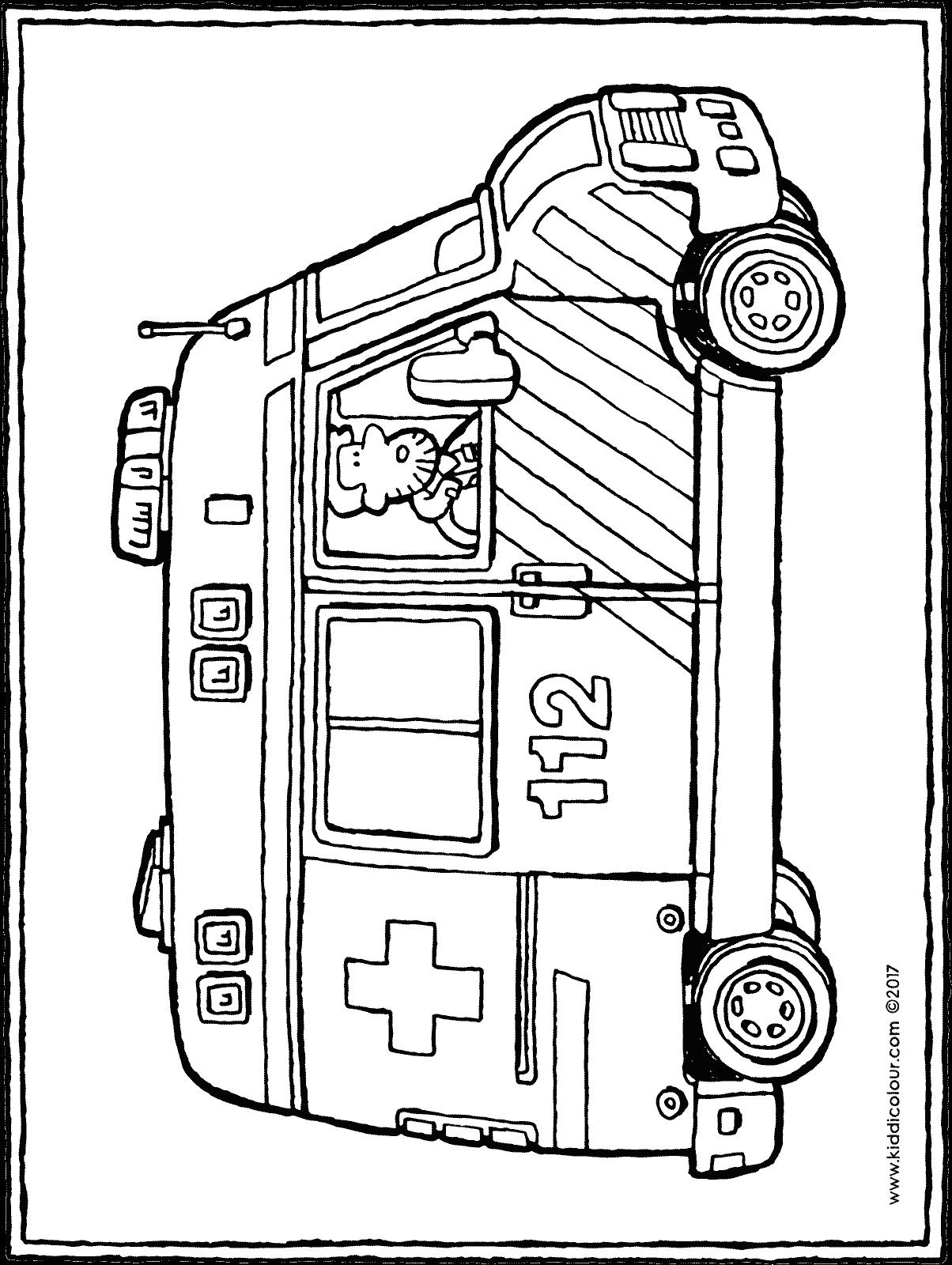 Krankenwagen Zeichnung
