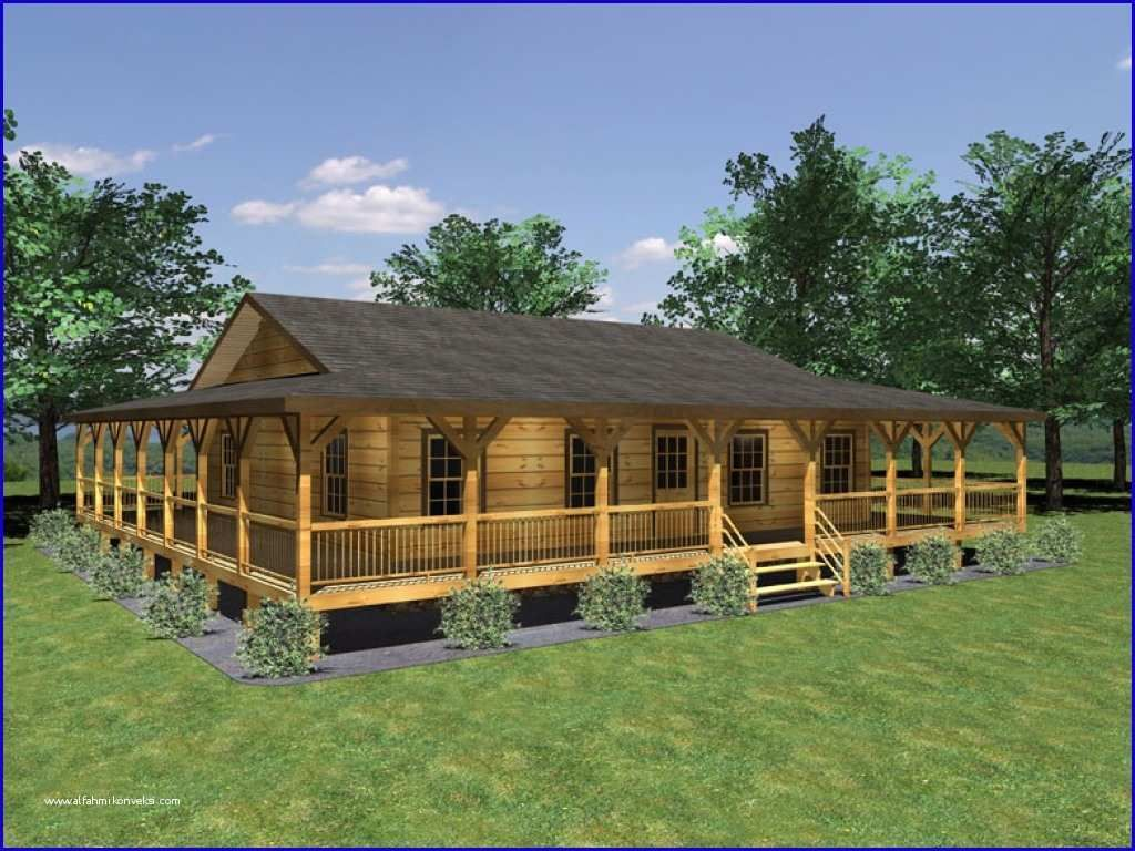 Single Story Ranch Style House Plans With Wrap Around Porch And Small Home Plan Porch House Plans Ranch Houses With Wrap Around Porches Ranch Style House Plans