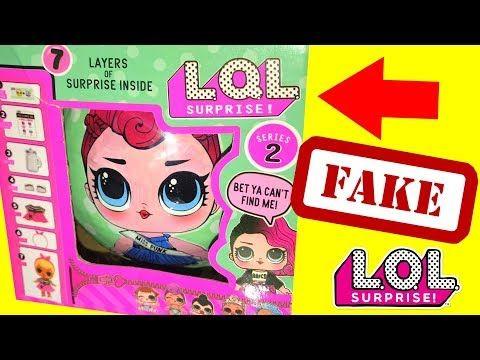 Fake Lol Dolls Vs Real L O L Dolls Lql L Q L L O L Magical