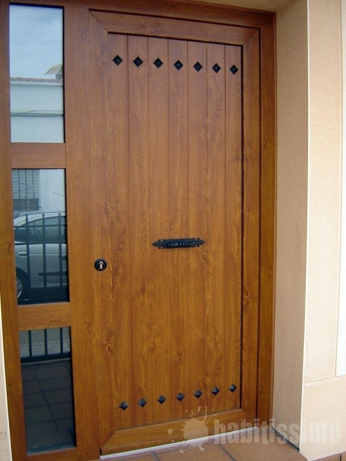 Puertas exterior mallorquinas cerca amb google for Precio de puertas para casa