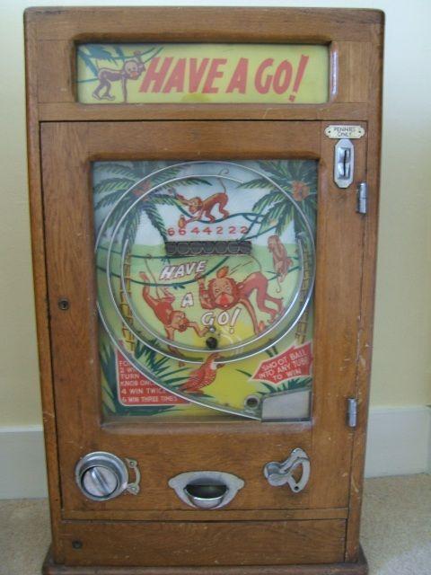 Have A GO Penny Arcade Machine | Vintage Arcade | Pinterest | To ...