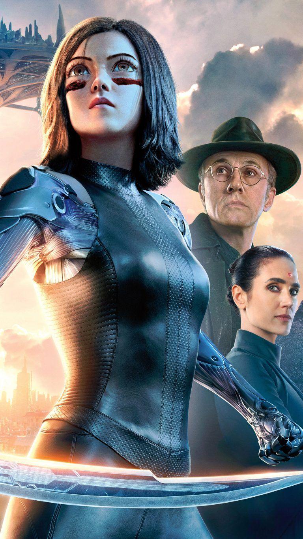 Alita battle angel sci fi movie 2019 4k ultra hd mobile