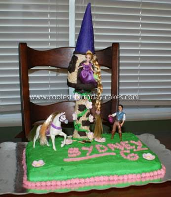 Coolest Rapunzel Tangled Birthday Cake Rapunzel Birthday cakes