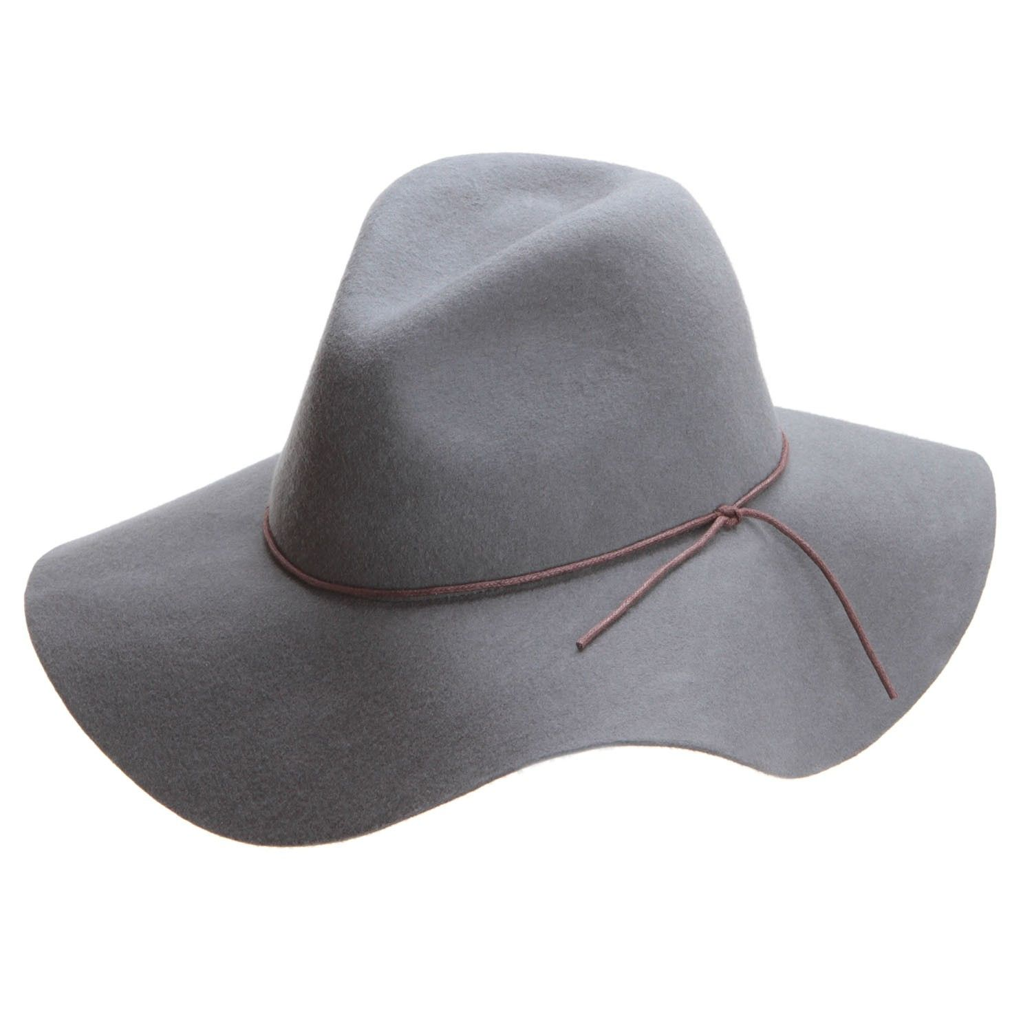Peter grimm womens wide brimmed hats grey cowgirl hats brim hat