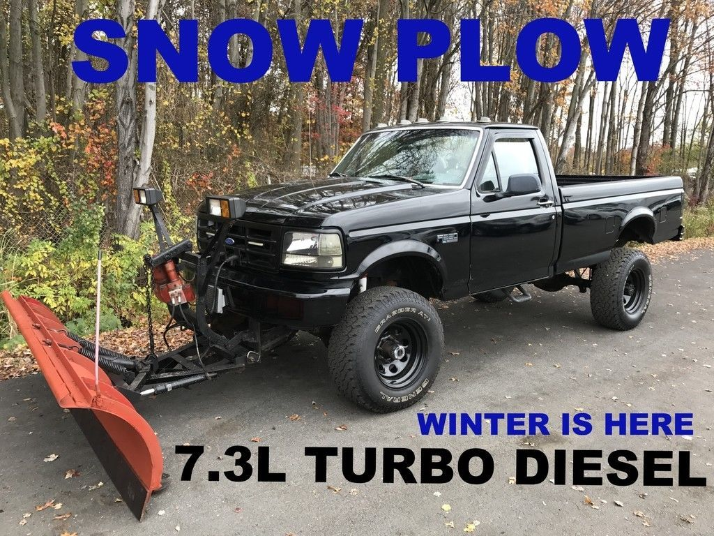 Cool Amazing 1996 Ford F 250 XL TURBO DIESEL 96 FORD F250 4X4 TURBO