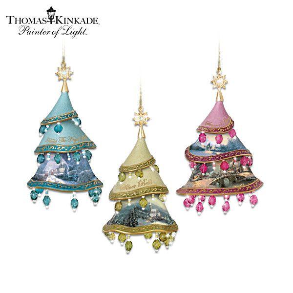 Thomas Kinkade Christmas Classics Ornament Collection ...