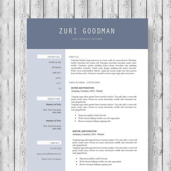 resume modern executive - Koranayodhya