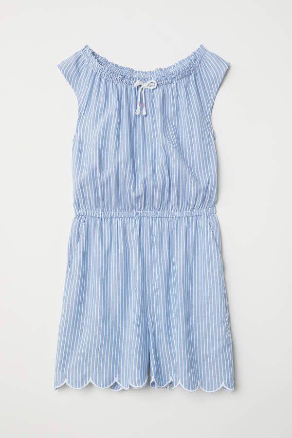a6236943fff H M H   M - Jumpsuit - Blue white striped - Kids