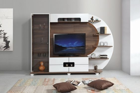 17 Creative Ways To Install And Decorate Your Tv Unit Modern Tv