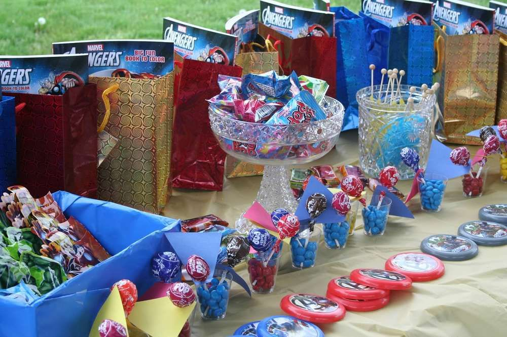 The Avengers Birthday Party Ideas Birthday party ideas Birthdays