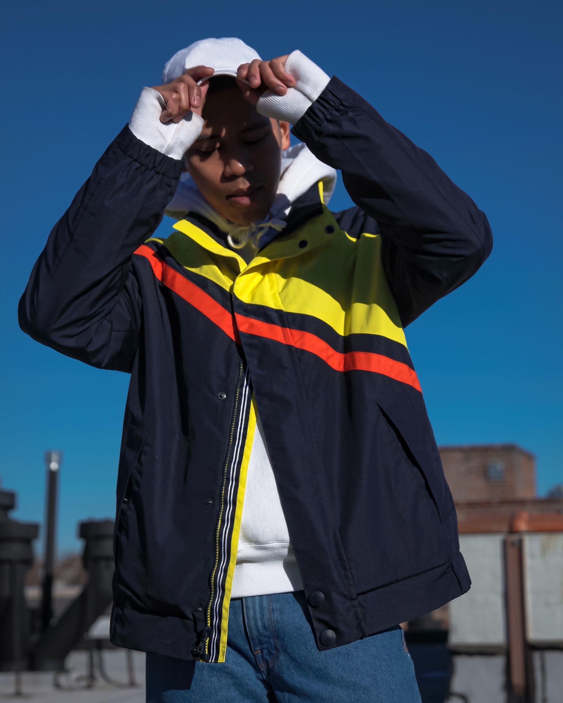 Nautica X Urban Outfitters Street Style Blogger Lil Yachty Athleisure Men Athleisure Photoshoot Summer Photoshoot