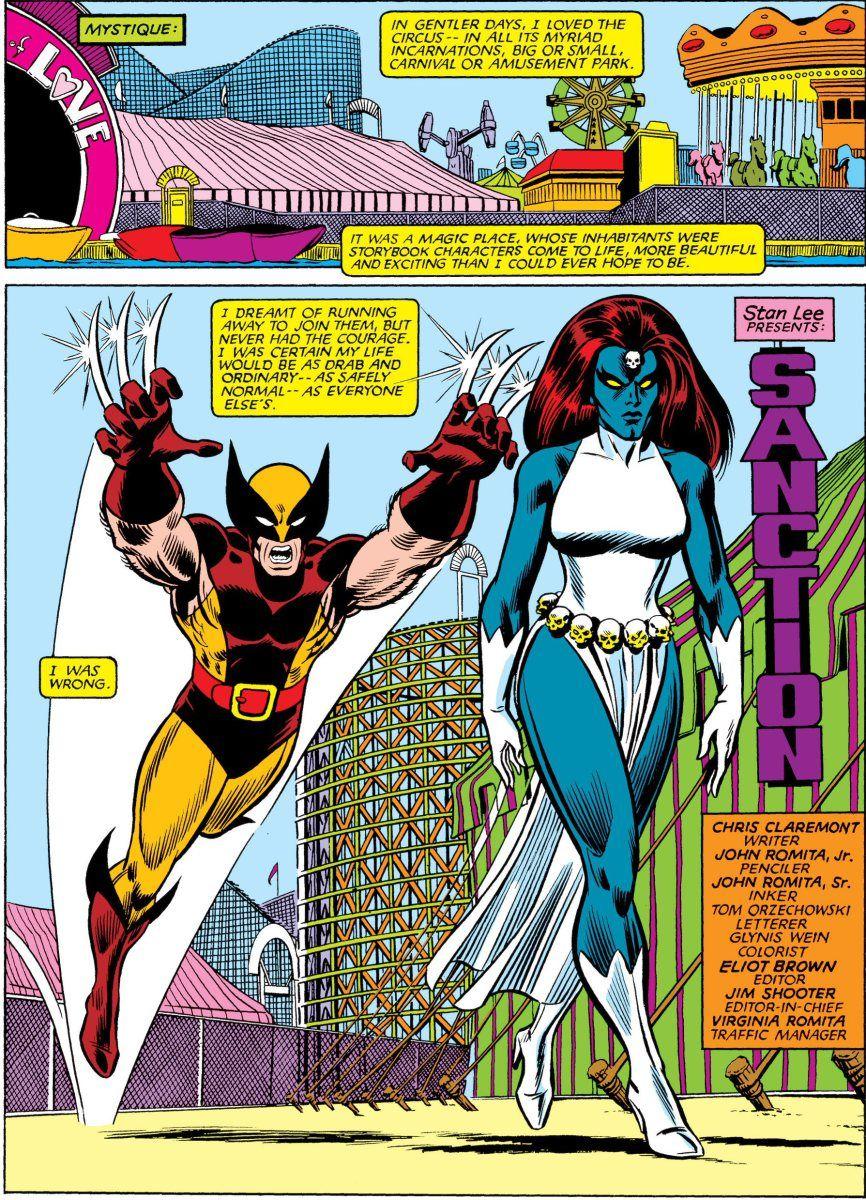 The Uncanny X Men Vs Mystique X Post From R Mystique Mystique Comic Mystique Comics